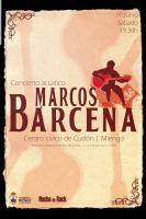 Concierto acústico de Marcos Bárcena