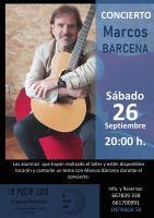 Concierto Marcos Bárcena