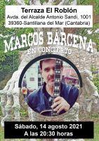 Marcos Bárcena en concierto